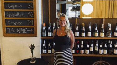 Emma Ferguson of Balthazar restaurant in Perth.