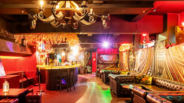 The Randy Dragon nightclub at 313 Flinders Lane, on the corner of Mill Place.