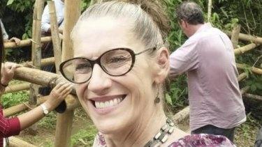 Christa Avery, an Australian detained in Myanmar.