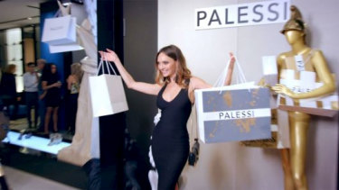 A scene from the Payless ShoeSource event.