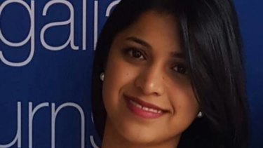 Preethi Reddy, 32, was found dead in a suitcase on Tuesday.