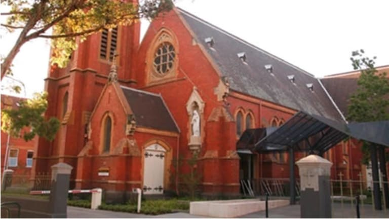 Subiaco's St Joseph's church, where Father Walsh was parish priest for 16 years.