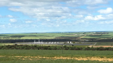An artists impression of the Waitsia stage 2 gas plant.