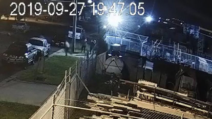 'Extremely concerning': Bikie clubhouse drive-by shooting caught on CCTV