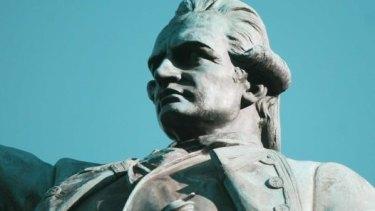 Captain Cook statue, Hyde Park, Sydney.