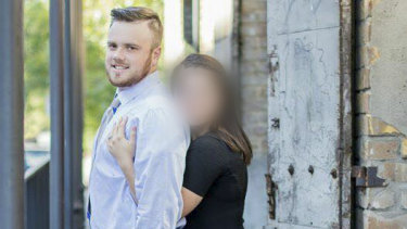 Brenton Estorffe, 29, was shot dead after confronting intruders at his home in Katy, in Texas.