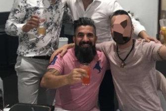 Jamal Younan, charged over Somerton stabbing brawl.