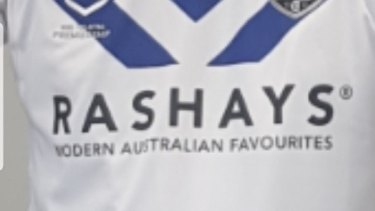 The Bulldogs had been on the verge of signing Rashay's as a main sponsor.