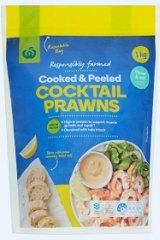Woolworths is recalling these frozen prawns due to microbiological contamination.