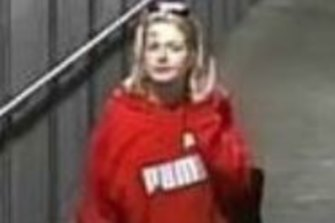 One of the women investigators want to identify and speak to.