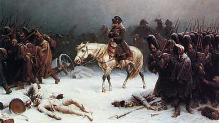 Napoleon's Retreat from Moscow by Adolf Northern