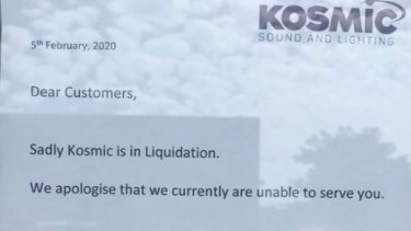 Kosmic has closed its doors after 51 years.