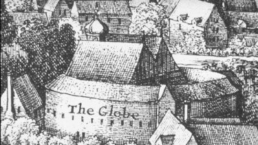 Gone but not forgotten: The original Globe Theatre.
