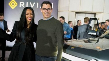 Having been kept in obscurity, the Rivian ute now gets celebrity treatment. Singer Rihanna presented the vehicle with CEO RJ Scaringe at its debut in November.