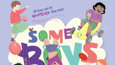 The cover of Some Boys by Nelly Thomas features a boy in a skirt.