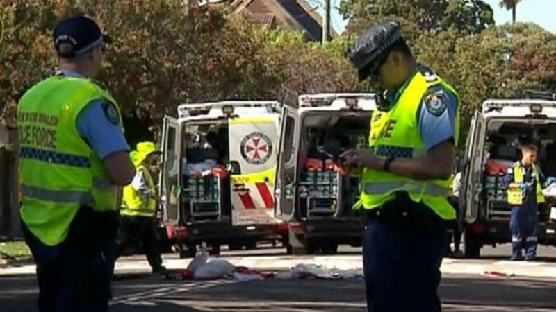 Man and child badly hurt after being hit by car in Sydney's north shore - Sydney Morning Herald