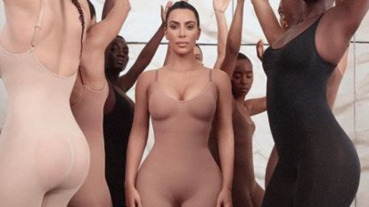 Kim Kardashian defines the 'new nude' with inclusive shapewear line