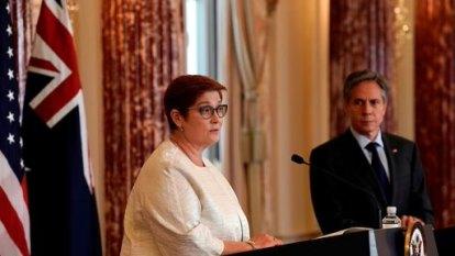 Payne: US-Australia alliance should embolden others on China