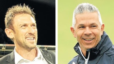 Old mates Tony Popovic and Steve Corica go head-to-head in the A-League grand final.