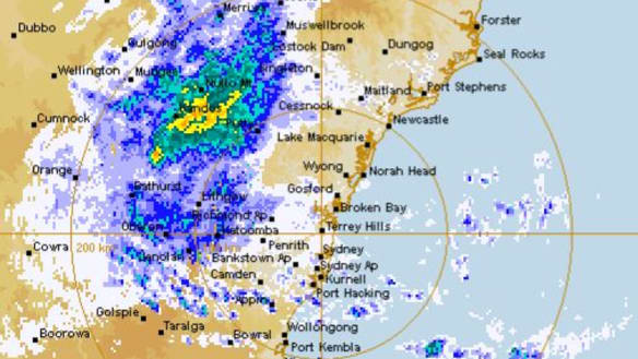 Sydney to cop a drenching after record dry