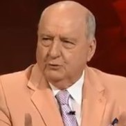 Broadcaster Alan Jones appeared on Q&A on Mondayt night.