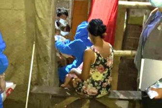 Fourteen children, aged between two and 17, have been rescued from alleged child sexual abuse in the Philippines.