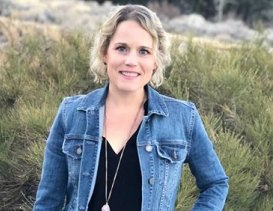 Blogger and mother, Celeste Erlach.