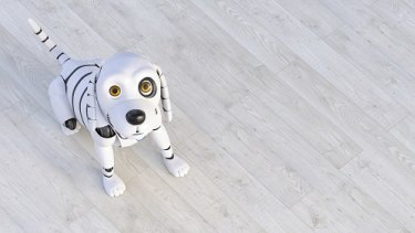 Robotic pets are expected to yield the same health benefits for seniors as a live, more demanding animal.
