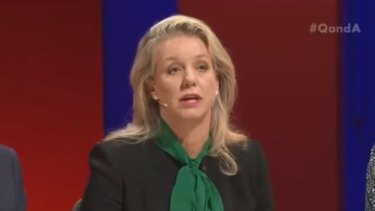 Nationals deputy leader Bridget McKenzie suggested that Scott Morrison was popular with rural voters.