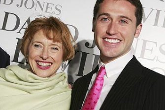 Proud  mum: Gai Waterhouse and her son Tom.