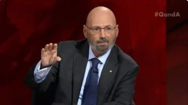 Arthur Sinodinos on Q&A on Monday night.