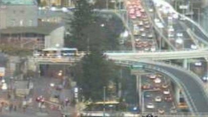 'It's clogged everywhere': Hour-long delays around Brisbane CBD