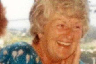 Liselotte Watson, who was killed on Macleay Island.