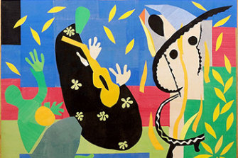 The Sorrows of the King by Henri Matisse (1952) was due to be on show in Sydney in November.