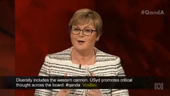 Q&A recap: Liberal senator Linda Reynolds' own goal over ABC