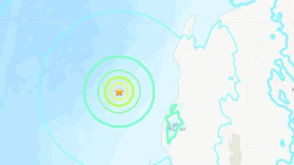Magnitude 5.6 earthquake strikes off the coast of Western Australia