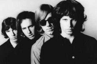 John Densmore, Robbie Krieger, Ray Manzarek and Jim Morrison of the Doors. Morrison died in 1971 at age 27.