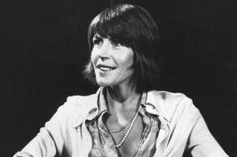 Australian singer Helen Reddy in 1973.