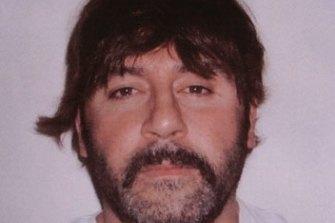 The Tony Mokbel infamous arrest shot in Greece.