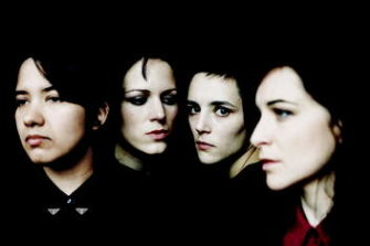The Savages: Ayse Hassan, Gemma Thompson, Jehnny Beth and Fay Milton.
