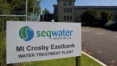 Mount Crosby Water Treatment Plant which provides Brisbane's drinking water.