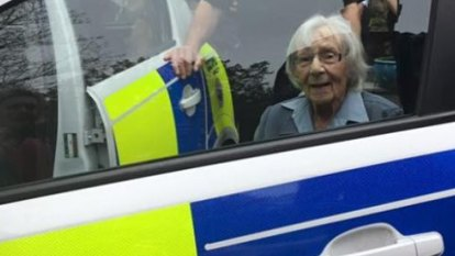 AnneBrokenbrow, 104, arrested to fulfil her greatest wish