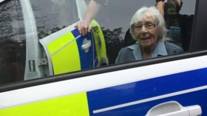 Anne Brokenbrow, 104, arrested to fulfil her greatest wish