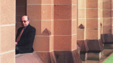 Former Sydney University lecturer Andrew Riemer, pictured in 1998.
