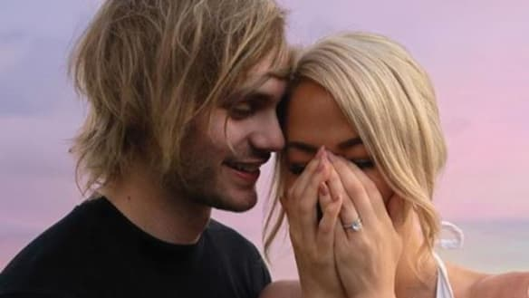 Michael Clifford, of 5 Seconds of Summer, has proposed to his girlfriend of three years, Crystal Leigh.