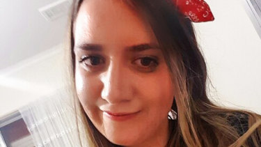 Courtney Herron, 25, was found dead in Parkville at 9.15am on Saturday.