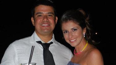 Cecilia Haddad and Felipe Torres in 2011.