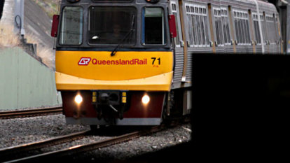 Gold Coast train disabled by debris deliberately put on track, police believe