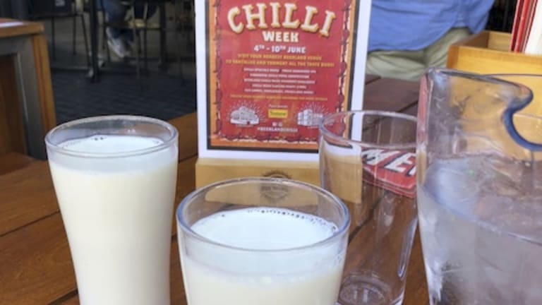 Make sure milk is your friend if you visit the breweries for a chilli hit.