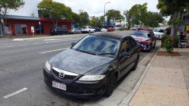 Anyone who may have seen this vehicle is urged to contact police, in relation to a shooting north of Brisbane.